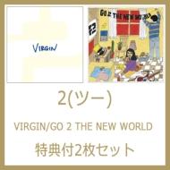 VIRGIN / GO 2 THE NEW WORLD 【特典CD-R付2枚セット商品】(アナログレコード)