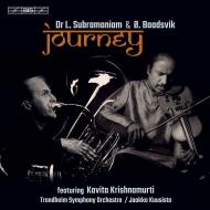 『旅〜ラクシュミナラヤナ・スブラマニアムの音楽』 ラクシュミナラヤナ・スブラマニアム、オイスタイン・ボーズヴィーク、他