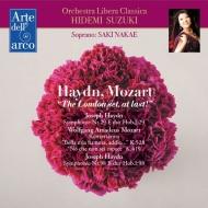 Haydn Symphonies Nos.98, 29, Mozart Concert Arias : Hidemi Suzuki / Orchestra Libera Classica, Saki Nakae(S)