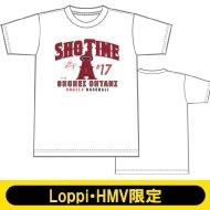 大谷翔平 SHO TIME Tシャツ ホワイト Sサイズ 半袖【Loppi・HMV限定】