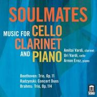 『ベートーヴェン:クラリネット三重奏曲『街の歌』、ブラームス、ラジンスキ』 アミタイ・ヴァルディ、ウーリ・ヴァルディ、アルノン・エレス