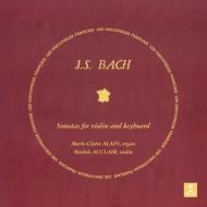 ヴァイオリン・ソナタ第1番〜第6番:ミシェル・オークレール(ヴァイオリン)、マリー=クレール・アラン(オルガン)(2枚組/180グラム重量盤レコード)