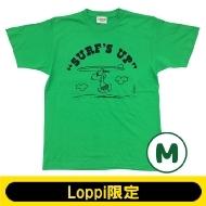 SNOOPY Tシャツ ブライトグリーン(M)【Loppi限定】
