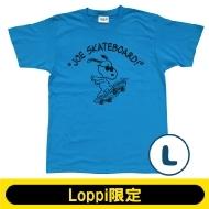 SNOOPY Tシャツ ターコイズ(L)【Loppi限定】
