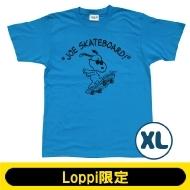 SNOOPY Tシャツ ターコイズ(XL)【Loppi限定】