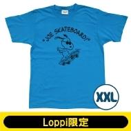 SNOOPY Tシャツ ターコイズ(XXL)【Loppi限定】