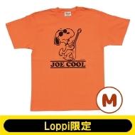 SNOOPY Tシャツ コーラルオレンジ(M)【Loppi限定】