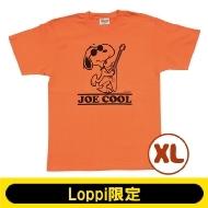 SNOOPY Tシャツ コーラルオレンジ(XL)【Loppi限定】