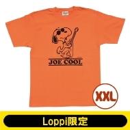SNOOPY Tシャツ コーラルオレンジ(XXL)【Loppi限定】