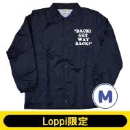 SNOOPY コーチジャケット ネイビー(M)【Loppi限定】