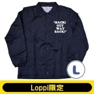 SNOOPY コーチジャケット ネイビー(L)【Loppi限定】
