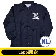 SNOOPY コーチジャケット ネイビー(XL)【Loppi限定】