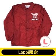 SNOOPY コーチジャケット バーガンディー(L)【Loppi限定】