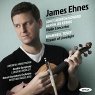 カーニス:ヴァイオリン協奏曲、ジェームズ・ニュートン・ハワード:ヴァイオリン協奏曲、他 ジェイムズ・エーネス、モルロー&シアトル響、マチェラル&デトロイト響、他