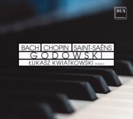 ゴドフスキー(1870-1938)/Transcriptions-j.s.bach Chopin Saint-saens-etc: Kwiatkowski(P)