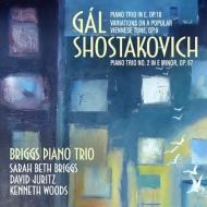 ガル:ピアノ三重奏曲、ウィーンの民謡による変奏曲、ショスタコーヴィチ:ピアノ三重奏曲第2番 ブリッグス・ピアノ三重奏団