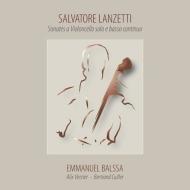 独奏チェロと通奏低音のためのソナタ集 エマニュエル・バルサ、アリックス・ヴェルジエ、ベルトラン・キュイエ