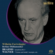 Brahms Symphony No.3 (1954), Wagner (1954, 1949): Wilhelm Furtwangler / Berlin Philharmonic (Single Layer)