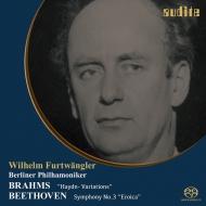 ベートーヴェン:交響曲第3番『英雄』、ブラームス:ハイドンの主題による変奏曲 ヴィルヘルム・フルトヴェングラー&ベルリン・フィル(1950)(シングルレイヤー)