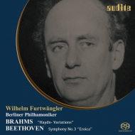 Beethoven Symphony No.3, Brahms Haydn Variations : Wilhelm Furtwangler / Berlin Philharmonic (1950)(Single Layer)