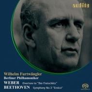 ベートーヴェン:交響曲第3番『英雄』、ウェーバー:『魔弾の射手』序曲 ヴィルヘルム・フルトヴェングラー&ベルリン・フィル(1952)(シングルレイヤー)
