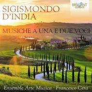 Musiche A Una E Due Voci: F.cera(Cemb)Ensemble Arte Musica