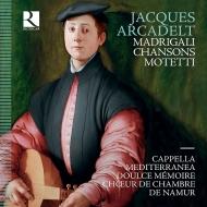 モテット、マドリガーレとシャンソン ナミュール室内合唱団、カペラ・メディテラネア、ドゥルス・メモワール(3CD)