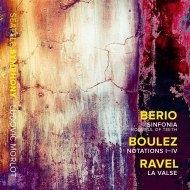 ベリオ:シンフォニア、ブーレーズ:ノタシオン I-IV、ラヴェル:ラ・ヴァルス リュドヴィク・モルロー&シアトル交響楽団、ルームフル・オブ・ティース