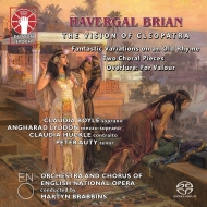 The Vision Of Cleopatra, Etc: Brabbins / English National Opera Huckle Auty C.boyle Lyddon