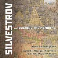 シルヴェストロフ、ヴァレンティン(1937-)/Touching The Memory-vocal & Chamber Works: Lubimov(P) Gabele(S) J-p.dessy /