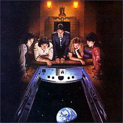 Denny Laine With Paul McCartney In Flight