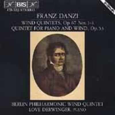 Wind Quintets Op.67: Berlin Philharmonic Wind Quintet, Derwinger