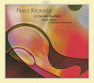 クラリネット四重奏曲集(全6曲) クレッカー/コンソルティウム・クラシクム