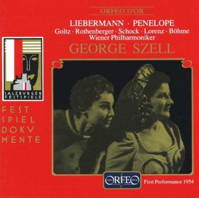 Penelope: Szell / Vpo Salzburg Live 1954