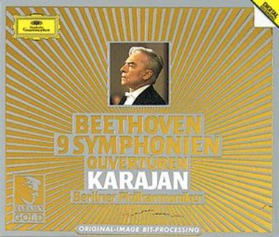 交響曲全集、序曲集 カラヤン&ベルリン・フィル(1980年代)(6CD)