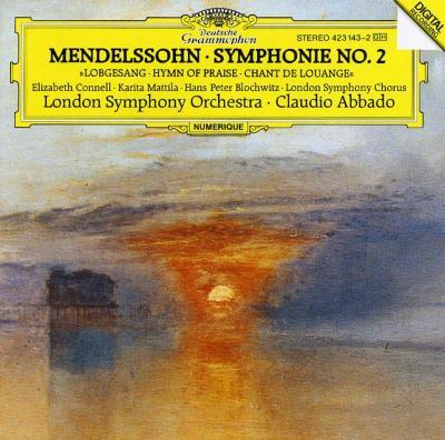 交響曲第2番 アバド&ロンドン交響楽団