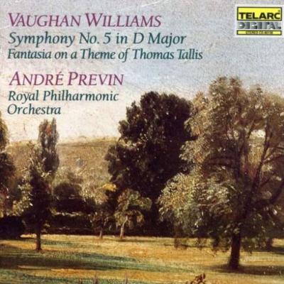 交響曲第5番、タリスの主題による幻想曲 プレヴィン&ロイヤル・フィル