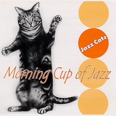 Jazz Cats Morning Cup Of Jazz