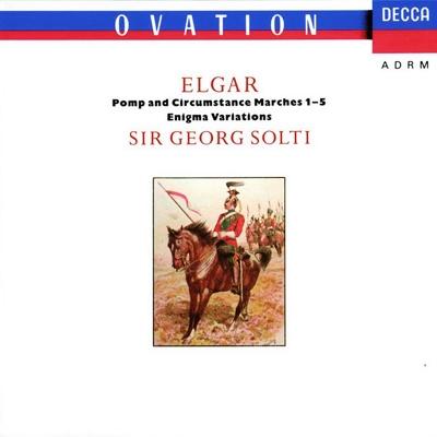 エニグマ変奏曲、行進曲『威風堂々』第1〜5番 ショルティ&ロンドン・フィル