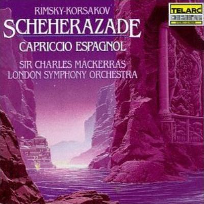 『シェエラザード』、スペイン奇想曲 マッケラス&ロンドン交響楽団