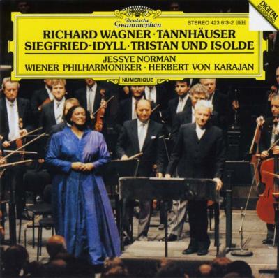 ジークフリート牧歌、『トリスタンとイゾルデ』前奏曲、愛の死、ほか カラヤン&ウィーン・フィル、ノーマン