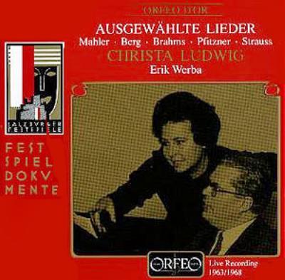 Christa Ludwig: Selected Lieder Salzburg Live 1963 & 1968