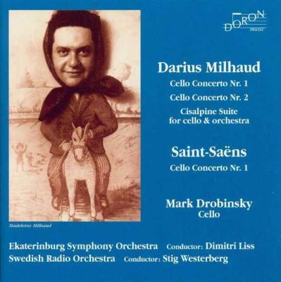 Cello Concerto.1, 2: Drobinsky(Vc)Liss / +saint-saens: Concerto.1