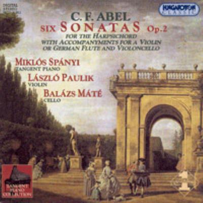 6 Sonatas: Spanyi(P)paulik(Vn)mate(Vc)