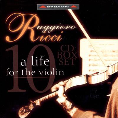 ルッジェーロ・リッチ「A Life For The Violin」(10CD)