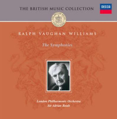 交響曲全集 ボールト&ロンドン・フィル(5CD)
