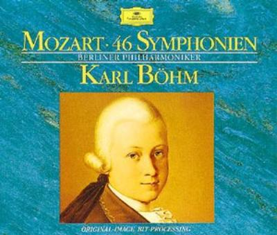 46 Symphonies : Karl Bohm / Berlin Philharmonic (10CD)