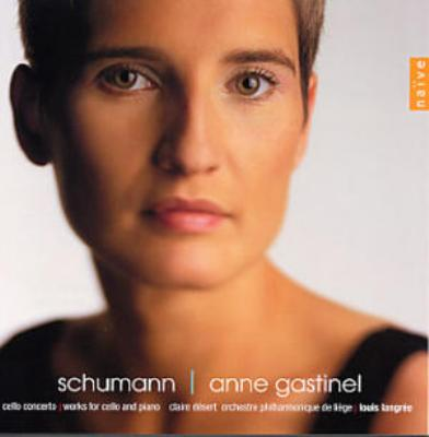 Cello Concerto, Fantasiestucke: Gastinel(Vc), Langree / Liege.po, Etc