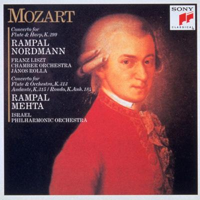 Concerto For Flute & Harp: Rampal, Nordman, Mehta / Ipo