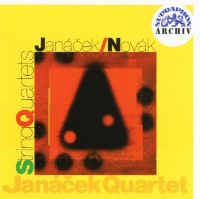 String Quartet.1, 2: Janacek Q +novak: String Quartet.2